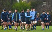 16 January 2018; Senior coach Stuart Lancaster during Leinster Rugby squad training at UCD in Dublin. Photo by Ramsey Cardy/Sportsfile