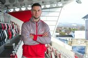 17 January 2018; John Cooney in attendance during an Ulster Rugby Press Conference at Kingspan Stadium, in Belfast. Photo by John Dickson/Sportsfile