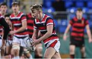 17 January 2018; Gary Hawe of Wesley College during the Bank of Ireland Leinster Schools Vinnie Murray Cup Round 2 match between Wesley College and Kilkenny College at Donnybrook Stadium, in Dublin. Photo by Matt Browne/Sportsfile