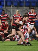 17 January 2018; John Rogers of Kilkenny College in action against Wesley College during the Bank of Ireland Leinster Schools Vinnie Murray Cup Round 2 match between Wesley College and Kilkenny College at Donnybrook Stadium, in Dublin. Photo by Matt Browne/Sportsfile
