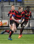 17 January 2018; Matthew Hodgins of Kilkenny College during the Bank of Ireland Leinster Schools Vinnie Murray Cup Round 2 match between Wesley College and Kilkenny College at Donnybrook Stadium, in Dublin. Photo by Matt Browne/Sportsfile