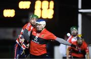 18 January 2018; Tom Devine of University College Cork in action against Daragh Fanning of Cork Institute of Technology during the Electric Ireland HE GAA Fitzgibbon Cup Group A Round 2 match between Cork Institute of Technology and University College Cork at Cork IT, in Bishopstown, Cork.  Photo by Matt Browne/Sportsfile