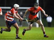 18 January 2018; Niall Cashman of University College Cork in action against Kevin O'Neill of Cork Institute of Technology during the Electric Ireland HE GAA Fitzgibbon Cup Group A Round 2 match between Cork Institute of Technology and University College Cork at Cork IT, in Bishopstown, Cork.   Photo by Matt Browne/Sportsfile