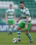 20 January 2018; Brandon Miele of Shamrock Rovers during the Pre-season Friendly match between Shamrock Rovers and Cobh Ramblers at Tallaght Stadium in Dublin. Photo by Eóin Noonan/Sportsfile