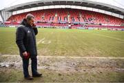21 January 2018; Munster rugby CEO Garrett Fitzgerald prior to the European Rugby Champions Cup Pool 4 Round 6 match between Munster and Castres at Thomond Park in Limerick. Photo by Stephen McCarthy/Sportsfile