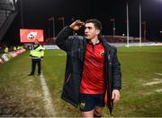 21 January 2018; Ian Keatley of Munster following the European Rugby Champions Cup Pool 4 Round 6 match between Munster and Castres at Thomond Park in Limerick. Photo by Stephen McCarthy/Sportsfile