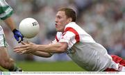 3 August 2003; Cormac McAnallen, Tyrone. Bank of Ireland All-Ireland Senior Football Championship Quarter Final, Tyrone v Fermanagh, Croke Park, Dublin. Picture credit; Damien Eagers / SPORTSFILE *EDI*