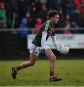 21 January 2018; Michael Hall of Mayo during the Connacht FBD League Round 5 match between Sligo and Mayo at James Stephen's Park in Ballina, Co Mayo. Photo by Seb Daly/Sportsfile