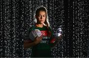 23 January 2018; Ladies Footballer Sarah Rowe of Mayo at the announcement of Lidl Ireland's third year of partnership with the Ladies Gaelic Football Association. Lidl have today launched their new 6 pack of Carrick Glen Active Spring Water. €0.10 of each purchase will fund jerseys & equipment for U-18 level or under LGFA club teams. Nominate your local Ladies Gaelic Football club to win in any Lidl store nationwide or via Lidl Ireland's Facebook page. Photo by Brendan Moran/Sportsfile
