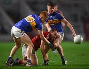 27 January 2018; Brian O'Driscoll of Cork in action against Josh Keane, left, and Michael Quinlivan of Tipperary during the Allianz Football League Division 2 Round 1 match between Cork and Tipperary at Páirc Uí Chaoimh in Cork. Photo by Stephen McCarthy/Sportsfile