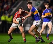 27 January 2018; Colm O'Neill of Cork in action against Liam Casey of Tipperary during the Allianz Football League Division 2 Round 1 match between Cork and Tipperary at Páirc Uí Chaoimh in Cork. Photo by Stephen McCarthy/Sportsfile