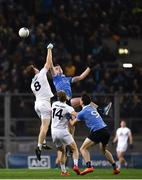 27 January 2018; Kevin Feely of Kildare in action against Brian Fenton of Dublin during the Allianz Football League Division 1 Round 1 match between Dublin and Kildare at Croke Park in Dublin. Photo by Seb Daly/Sportsfile