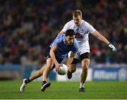 27 January 2018; Colm Basquel of Dublin in action against Peter Kelly of Kildare during the Allianz Football League Division 1 Round 1 match between Dublin and Kildare at Croke Park in Dublin. Photo by Seb Daly/Sportsfile