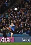 27 January 2018; Dean Rock of Dublin kicks a point during the Allianz Football League Division 1 Round 1 match between Dublin and Kildare at Croke Park in Dublin. Photo by Seb Daly/Sportsfile