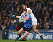 27 January 2018; Ciarán Kilkenny of Dublin in action against Johnny Byrne of Kildare during the Allianz Football League Division 1 Round 1 match between Dublin and Kildare at Croke Park in Dublin. Photo by Seb Daly/Sportsfile