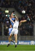 27 January 2018; Brian Fenton of Dublin in action against Kevin Feely of Kildare during the Allianz Football League Division 1 Round 1 match between Dublin and Kildare at Croke Park in Dublin. Photo by Seb Daly/Sportsfile