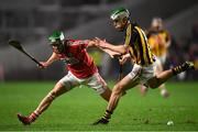 27 January 2018; Alan Cadogan of Cork in action against Paddy Deegan of Kilkenny during the Allianz Hurling League Division 1A Round 1 match between Cork and Kilkenny at Páirc Uí Chaoimh in Cork. Photo by Stephen McCarthy/Sportsfile