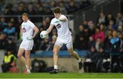 27 January 2018; Kevin Feely of Kildare takes a free during the Allianz Football League Division 1 Round 1 match between Dublin and Kildare at Croke Park in Dublin. Photo by Piaras Ó Mídheach/Sportsfile