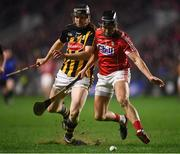 27 January 2018; Eoin Cadogan of Cork in action against Walter Walsh of Kilkenny during the Allianz Hurling League Division 1A Round 1 match between Cork and Kilkenny at Páirc Uí Chaoimh in Cork. Photo by Stephen McCarthy/Sportsfile