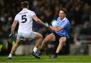 27 January 2018; Eric Lowndes of Dublin in action against Johnny Byrne of Kildare during the Allianz Football League Division 1 Round 1 match between Dublin and Kildare at Croke Park in Dublin. Photo by Piaras Ó Mídheach/Sportsfile