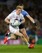 27 January 2018; Daniel Flynn of Kildare in action against Dean Rock of Dublin during the Allianz Football League Division 1 Round 1 match between Dublin and Kildare at Croke Park in Dublin. Photo by Piaras Ó Mídheach/Sportsfile