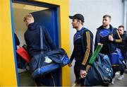 28 January 2018; Noel McGrath and his Tipperary team-mates arrive prior to the Allianz Hurling League Division 1A Round 1 match between Clare and Tipperary at Cusack Park in Ennis, County Clare.  Photo by Stephen McCarthy/Sportsfile