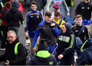 28 January 2018; Tony Kelly and his Clare team-mates arrive prior to the Allianz Hurling League Division 1A Round 1 match between Clare and Tipperary at Cusack Park in Ennis, County Clare.  Photo by Stephen McCarthy/Sportsfile