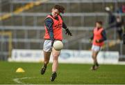 28 January 2018; David Clifford of Kerry warms up prior to the Allianz Football League Division 1 Round 1 match between Kerry and Donegal at Fitzgerald Stadium in Killarney, Co. Kerry. Photo by Diarmuid Greene/Sportsfile