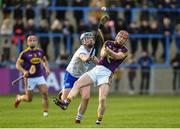 28 January 2018; Diarmuid O'Keeffe of Wexford in action against Stephen Bennett of Waterford during the Allianz Hurling League Division 1A Round 1 match between Waterford and Wexford at Walsh Park in Waterford. Photo by Matt Browne/Sportsfile