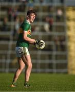 28 January 2018; David Clifford of Kerry prepares to kick a free during the Allianz Football League Division 1 Round 1 match between Kerry and Donegal at Fitzgerald Stadium in Killarney, Co. Kerry. Photo by Diarmuid Greene/Sportsfile