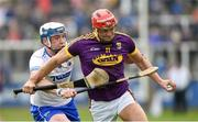 28 January 2018; Lee Chin of Wexford in action against Stephen Bennett of Waterford during the Allianz Hurling League Division 1A Round 1 match between Waterford and Wexford at Walsh Park in Waterford. Photo by Matt Browne/Sportsfile