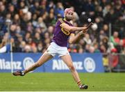 28 January 2018; Paudie Foley of Wexford during the Allianz Hurling League Division 1A Round 1 match between Waterford and Wexford at Walsh Park in Waterford.  Photo by Matt Browne/Sportsfile