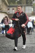 28 January 2018; Cillian O'Connor of Mayo arrives prior to the Allianz Football League Division 1 Round 1 match between Monaghan and Mayo at St Tiernach's Park in Clones, County Monaghan. Photo by Seb Daly/Sportsfile