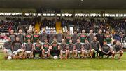 28 January 2018; Mayo team prior to the Allianz Football League Division 1 Round 1 match between Monaghan and Mayo at St Tiernach's Park in Clones, County Monaghan. Photo by Seb Daly/Sportsfile