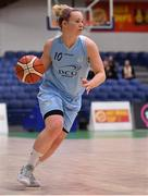 28 January 2018; Aisling Sullivan of DCU Mercy during the Hula Hoops Women's National Cup Final match between DCU Mercy and Ambassador UCC Glanmire at the National Basketball Arena in Tallaght, Dublin. Photo by Brendan Moran/Sportsfile