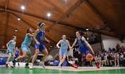 28 January 2018; Adily Martucci of Ambassador UCC Glanmire in action against Bronagh Cassidy-Power of DCU Mercy during the Hula Hoops Women's National Cup Final match between DCU Mercy and Ambassador UCC Glanmire at the National Basketball Arena in Tallaght, Dublin. Photo by Brendan Moran/Sportsfile