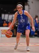 28 January 2018; Grainne Dwyer of Ambassador UCC Glanmire during the Hula Hoops Women's National Cup Final match between DCU Mercy and Ambassador UCC Glanmire at the National Basketball Arena in Tallaght, Dublin. Photo by Brendan Moran/Sportsfile