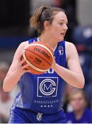 28 January 2018; Miriam Byrne of Ambassador UCC Glanmire during the Hula Hoops Women's National Cup Final match between DCU Mercy and Ambassador UCC Glanmire at the National Basketball Arena in Tallaght, Dublin. Photo by Brendan Moran/Sportsfile