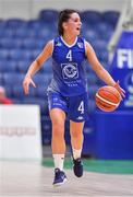 28 January 2018; Aine McKenna of Ambassador UCC Glanmire during the Hula Hoops Women's National Cup Final match between DCU Mercy and Ambassador UCC Glanmire at the National Basketball Arena in Tallaght, Dublin. Photo by Brendan Moran/Sportsfile