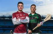 29 January 2018; Stephen Staunton of Ballyragget, left,  and Anthony Nash of Kanturk ahead of the AIB GAA All-Ireland Intermediate Hurling Club Championship Final taking place at Croke Park this Sunday 4th February. For exclusive content and behind the scenes action throughout the AIB GAA & Camogie Club Championships follow AIB GAA on Facebook, Twitter, Instagram and Snapchat. Photo by Sam Barnes/Sportsfile