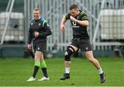 30 January 2018; Andrew Conway during Ireland rugby squad training at Carton House in Maynooth, Co Kildare. Photo by Ramsey Cardy/Sportsfile