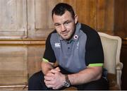 1 February 2018; Cian Healy poses for a portrait following a press conference at Carton House in Maynooth, Co Kildare. Photo by David Fitzgerald/Sportsfile