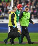 3 February 2018; Josh van der Flier of Ireland leaves the pitch after picking up an injury during the NatWest Six Nations Rugby Championship match between France and Ireland at the Stade de France in Paris, France. Photo by Ramsey Cardy/Sportsfile