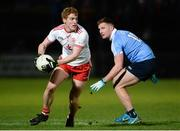 3 February 2018; Peter Harte of Tyrone in action against Ciaran Kilkenny of Dublin during the Allianz Football League Division 1 Round 2 match between Tyrone and Dublin at Healy Park in Omagh, County Tyrone. Photo by Oliver McVeigh/Sportsfile