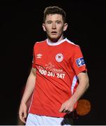 1 February 2018; James Doona of St Patrick's Athletic during the Pre-season Friendly match between Galway United and St Patrick's Athletic at the FAI National Training Centre in Abbotstown, Dublin. Photo by Eóin Noonan/Sportsfile