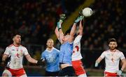 3 February 2018; Ciaran Kilkenny of Dublin in action against Aidan McCrory of Tyrone during the Allianz Football League Division 1 Round 2 match between Tyrone and Dublin at Healy Park in Omagh, County Tyrone. Photo by Oliver McVeigh/Sportsfile