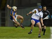 3 February 2018; Austin Gleeson of Waterford in action against Ronan Maher of Tipperary during the Allianz Hurling League Division 1A Round 2 match between Tipperary and Waterford at Semple Stadium in Thurles, County Tipperary. Photo by Matt Browne/Sportsfile