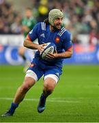 3 February 2018; Kevin Gourdon of France during the NatWest Six Nations Rugby Championship match between France and Ireland at the Stade de France in Paris, France. Photo by Brendan Moran/Sportsfile