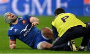 3 February 2018; Kevin Gourdon of France is treated for an injury during the NatWest Six Nations Rugby Championship match between France and Ireland at the Stade de France in Paris, France. Photo by Brendan Moran/Sportsfile