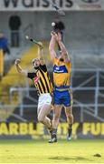 4 February 2018; John Conlon of Clare in action against Joe Lyng of Kilkenny during the Allianz Hurling League Division 1A Round 2 match between Kilkenny and Clare at Nowlan Park, in Kilkenny. Photo by Seb Daly/Sportsfile